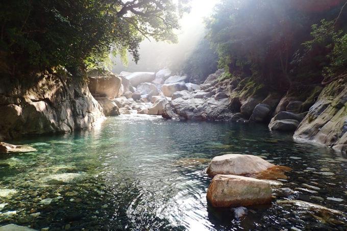 猿ヶ城渓谷沢登り ~トップレベルの美しさ~